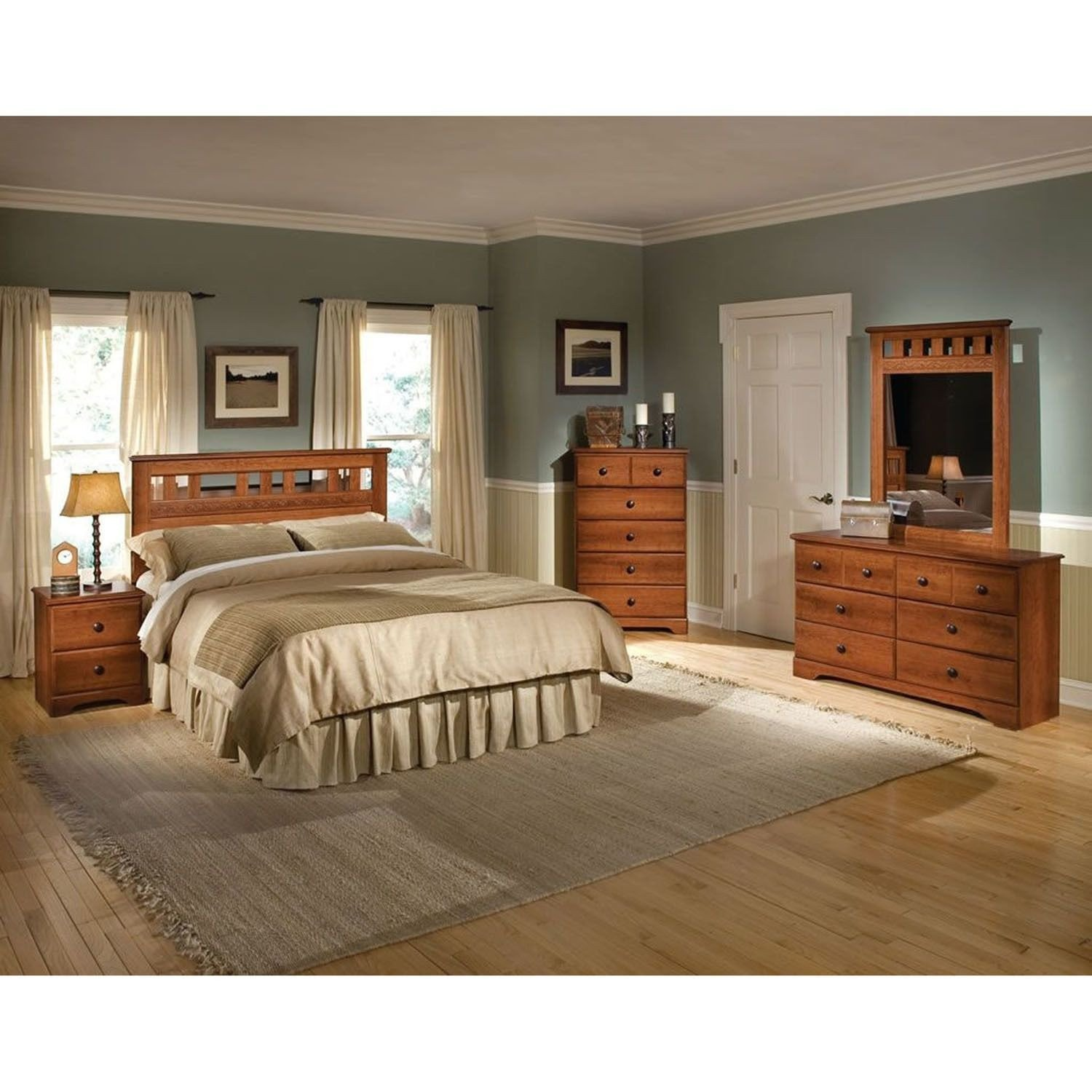 Light Wood Bedroom Furniture Elegant Cambridge Seasons Five Piece Bedroom Suite Queen Bed