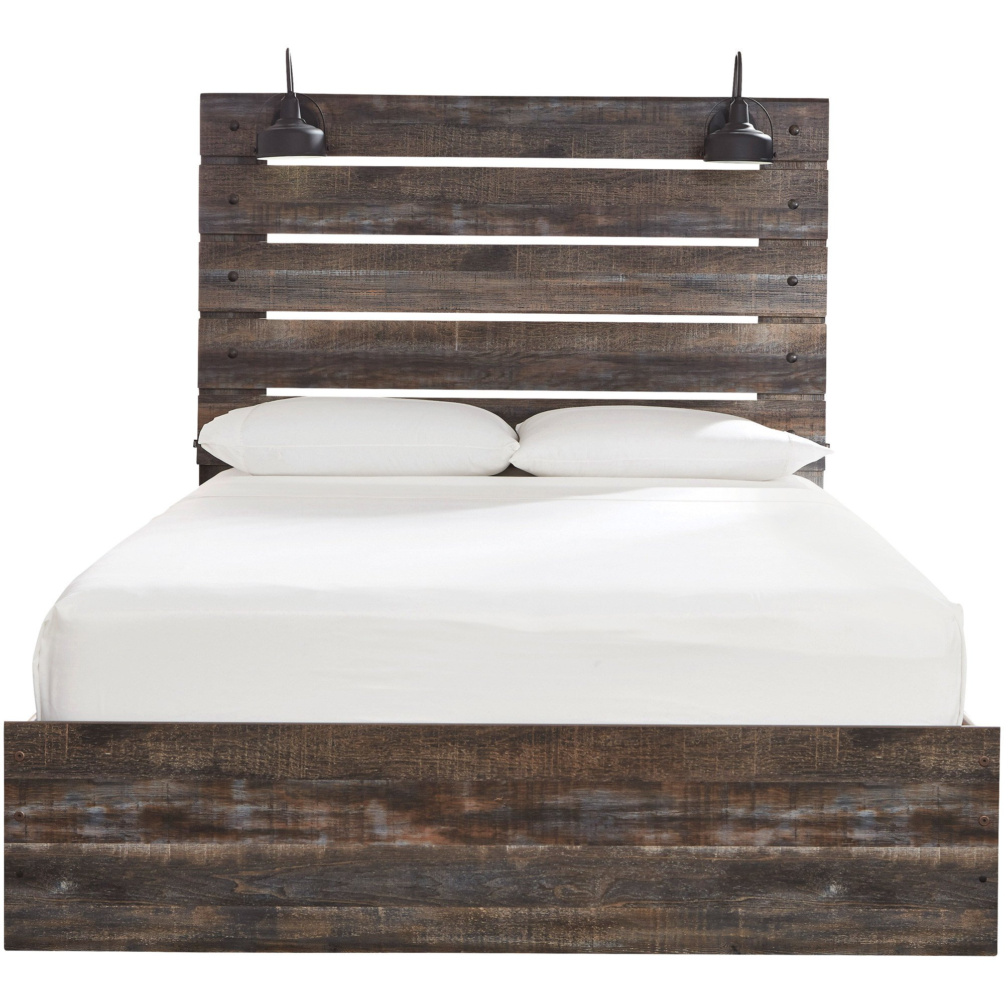 Light Wood Bedroom Furniture Luxury Drystan Panel Bed Bedrooms