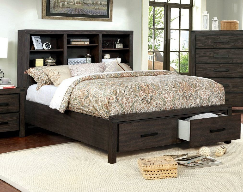 Lighted Headboard Bedroom Set Fresh Rhoda Storage Platform Bed