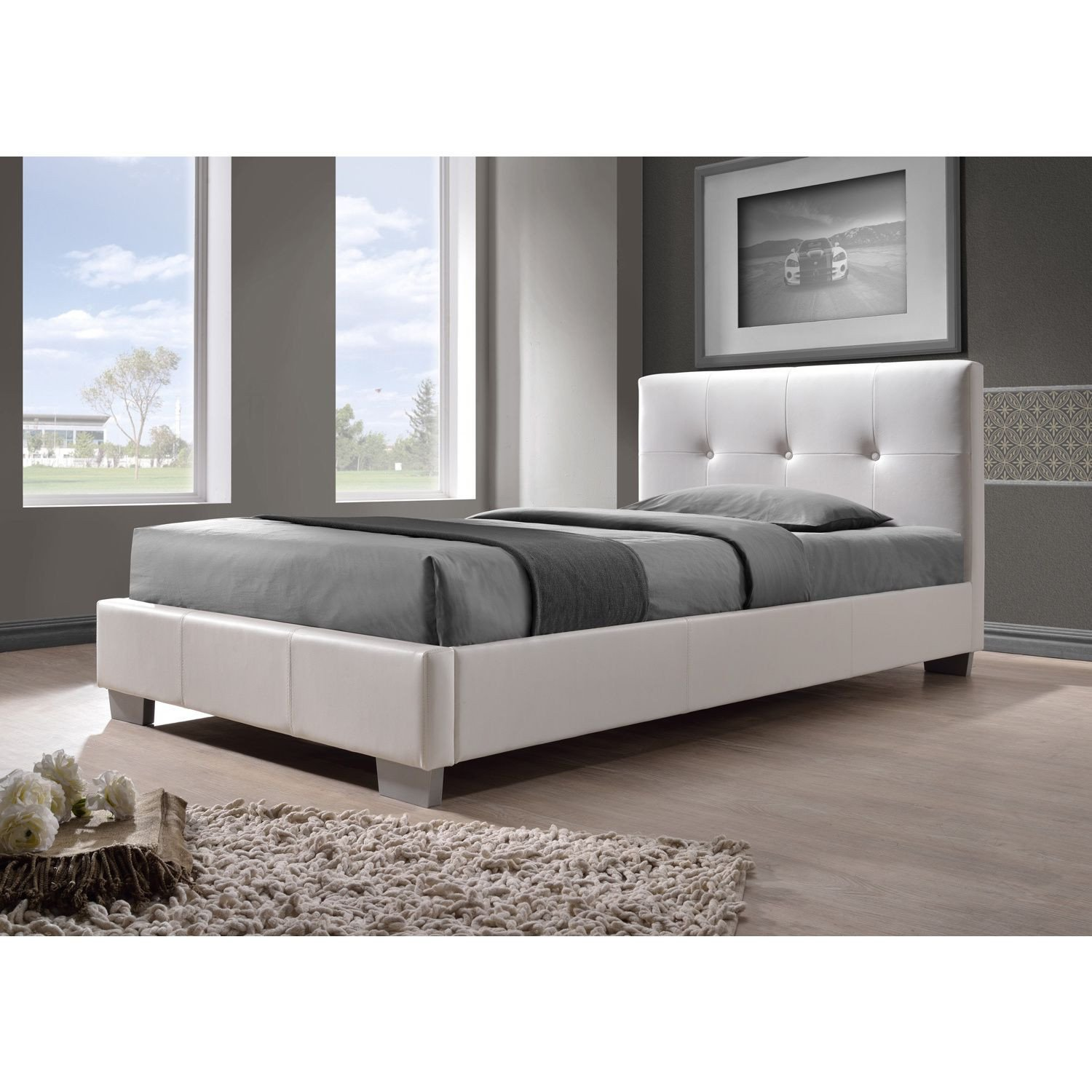 Lighted Headboard Bedroom Set Luxury This Twin Size Bed S Sleek Lines and Minimalist button