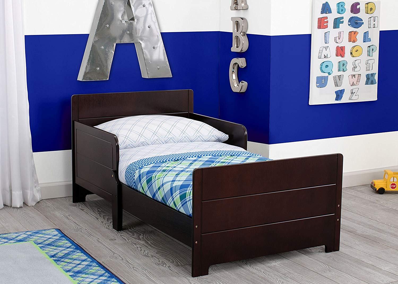 Lightning Mcqueen Bedroom Set Awesome Delta Children Mysize toddler Bed Dark Chocolate