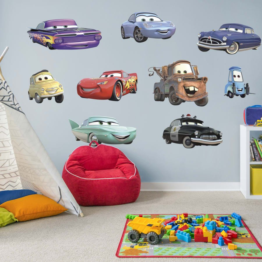 Lightning Mcqueen Bedroom Set Elegant Cars Collection X Ficially Licensed Disney Pixar Removable Wall Decals