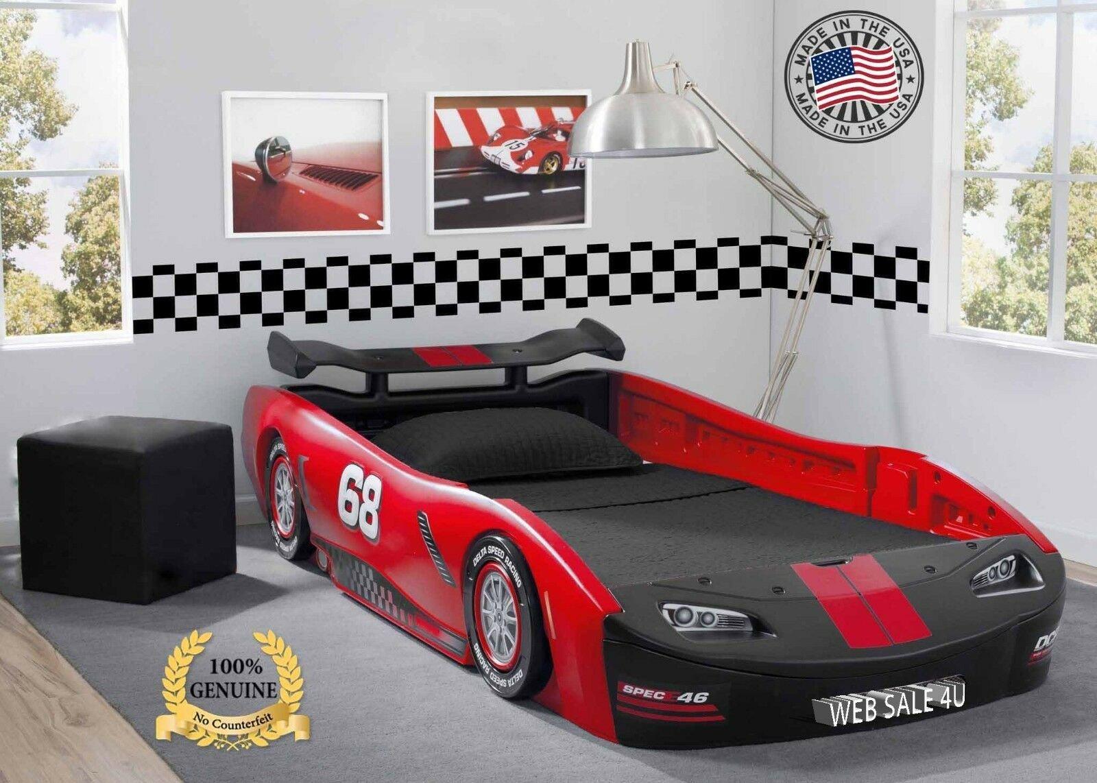 Lightning Mcqueen Bedroom Set Fresh Kids Bed Twin Car toddler Bedroom Furniture Race Children Turbo Delta Gift Usa