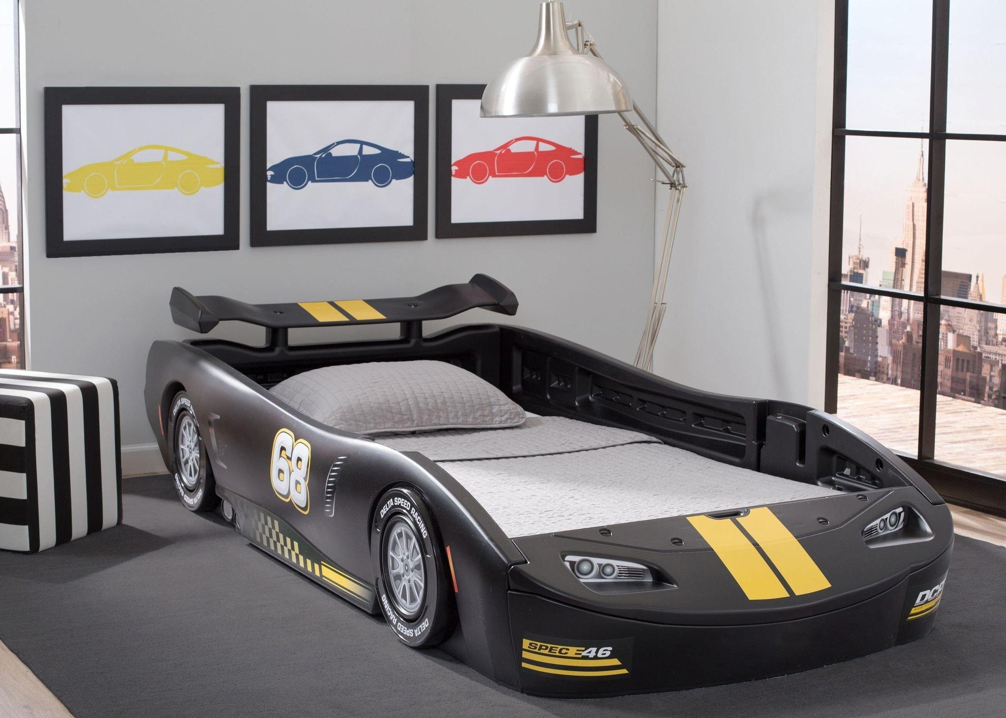 Lightning Mcqueen Bedroom Set Lovely Turbo Race Car Twin Bed Black Children S Bed