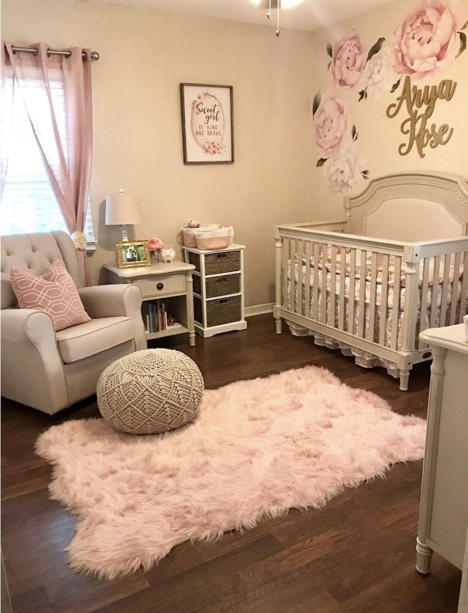 Little Girl Bedroom Decor Beautiful Baby Girl Nursery