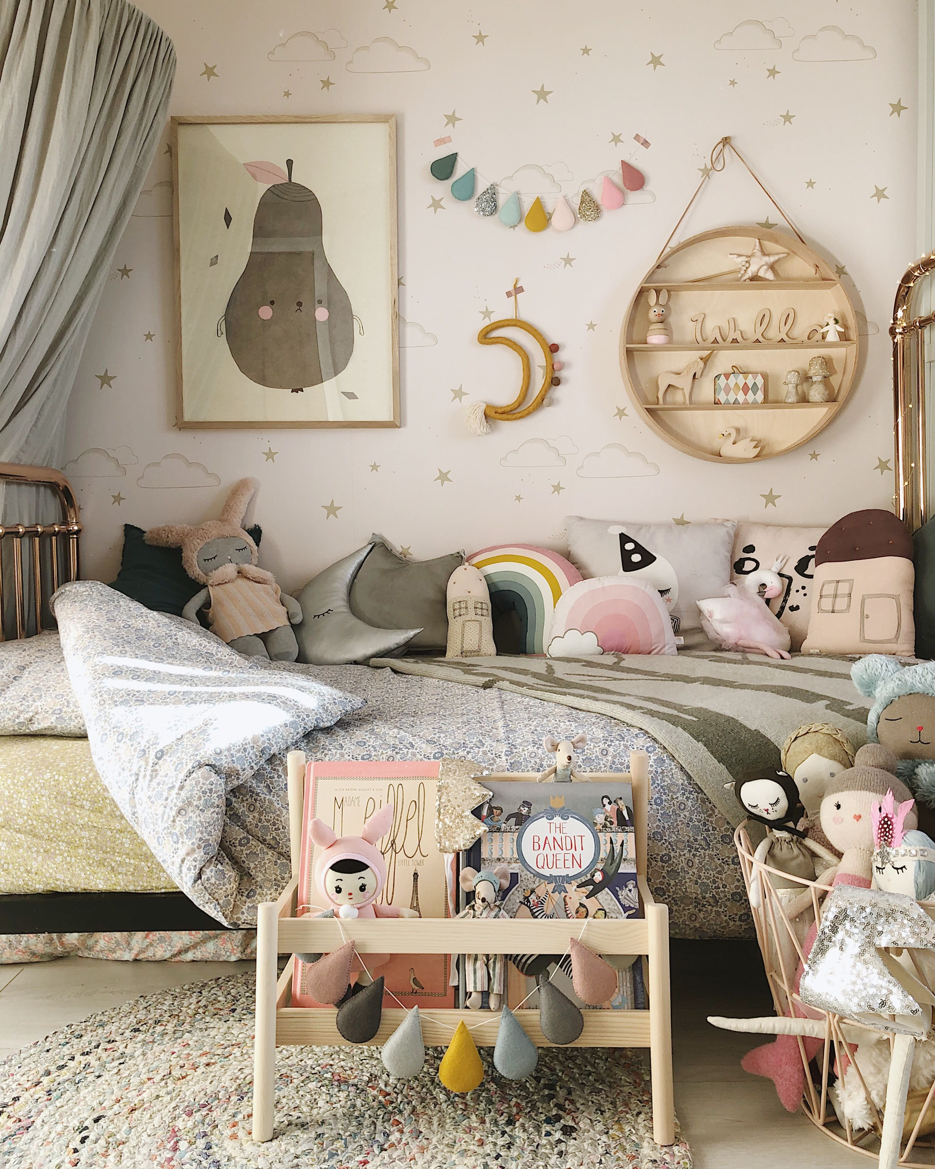 Little Girl Bedroom Decor Luxury Incy Interiors Rose Gold Bed Coco & Wolf Liberty Bedding