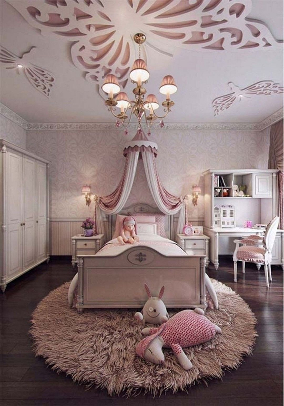 Little Girl Bedroom Decorating Ideas Awesome Pin by Roselle Musachia On Bedrm Dec In 2019