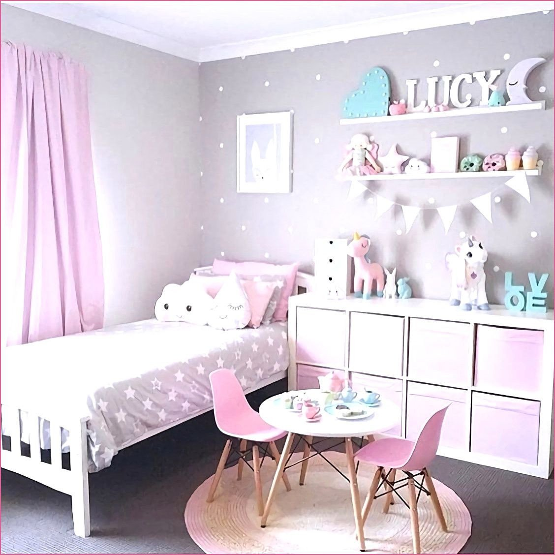 Little Girl Bedroom Decorating Ideas Luxury Pin On Functional Ideas