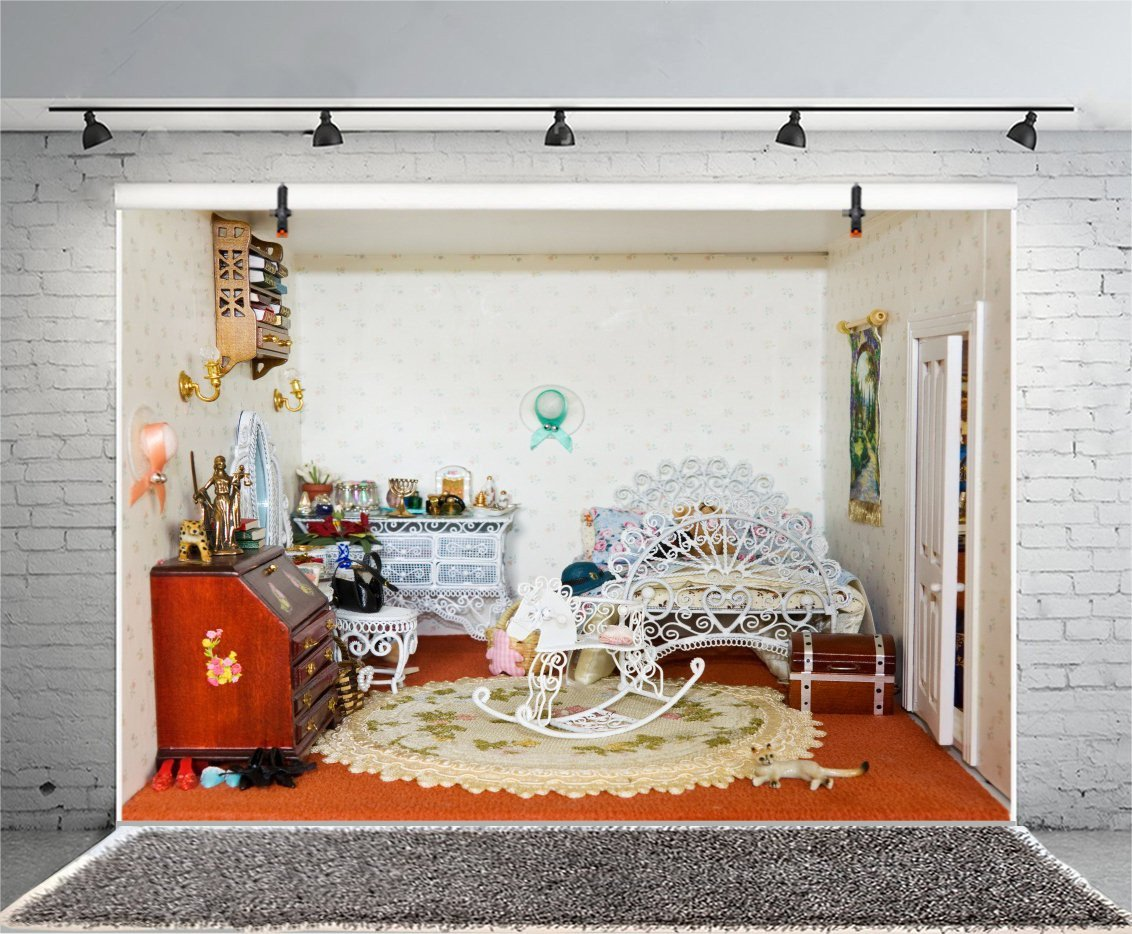 Little Girl Bedroom Decorating Ideas New Amazon Lfeey 9x6ft Girls Room Interior Graphy