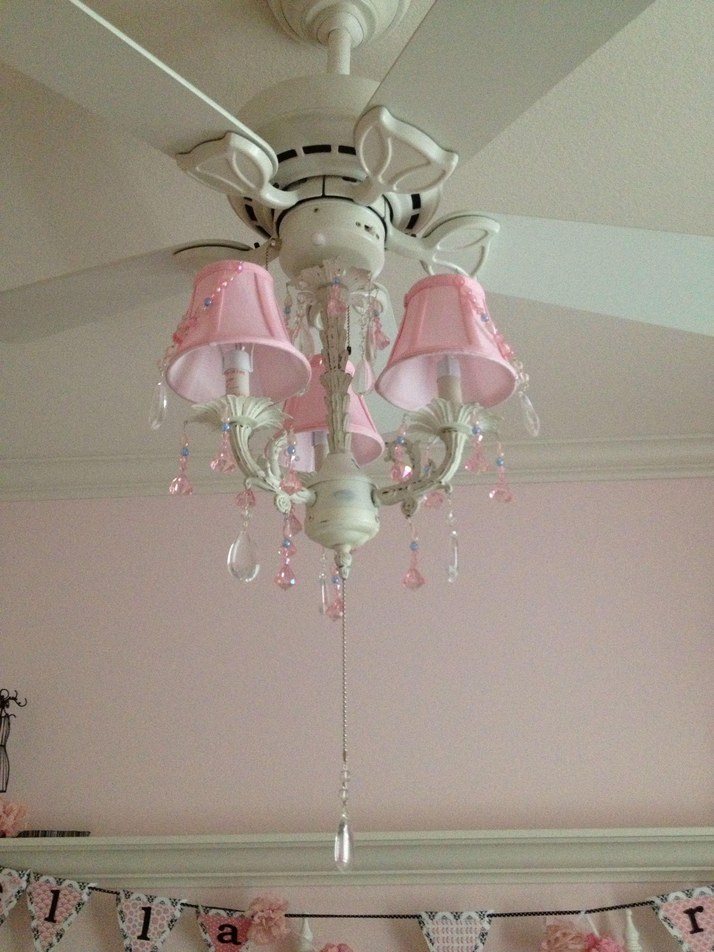 Little Girl Chandelier Bedroom Fresh Pink Chandelier On the Fan