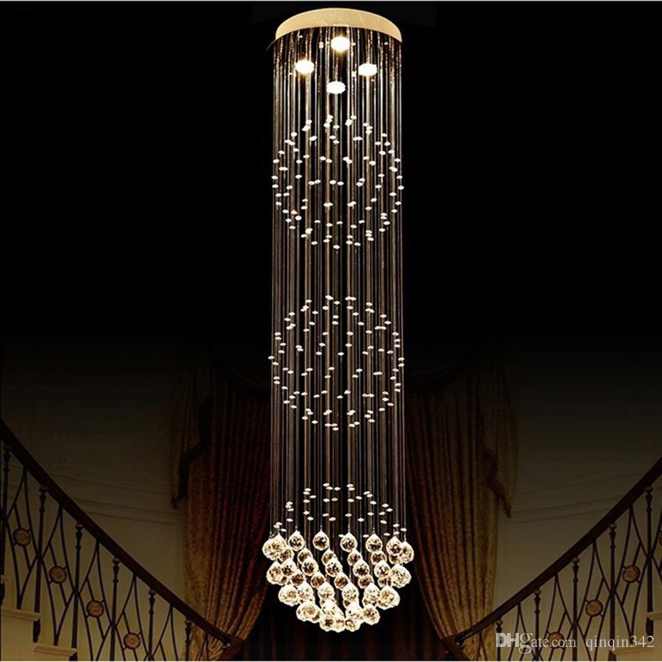 Little Girl Chandelier Bedroom Luxury Luxury Crystal Chandelier Living Room Lustre Sala De Cristal Modern Round Ball Chandeliers Light Fixture Wedding Deco Hanging Lamp Ceiling Lamps
