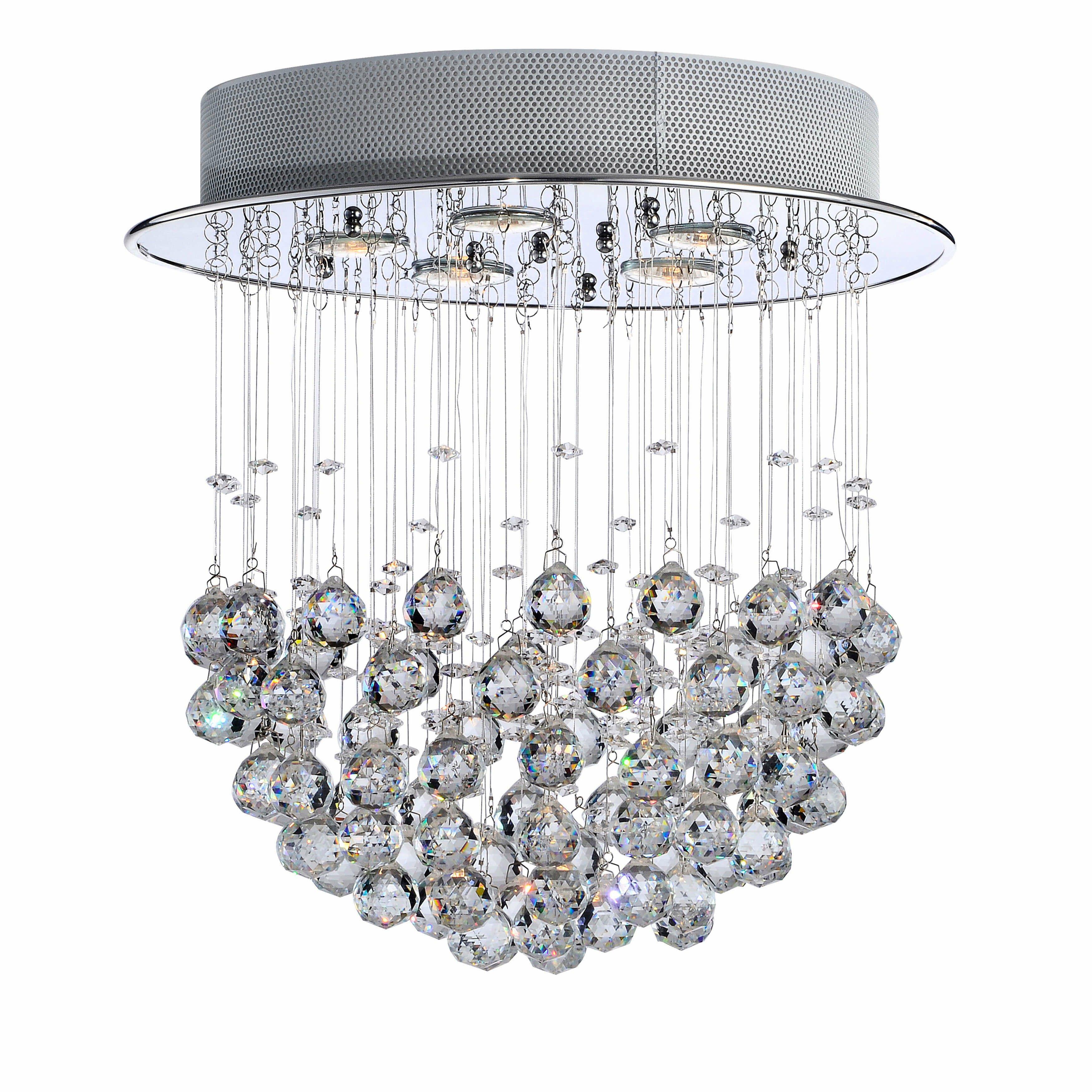 Little Girl Chandelier Bedroom Unique Fayetteville Crystal 5 Light Flush Mount