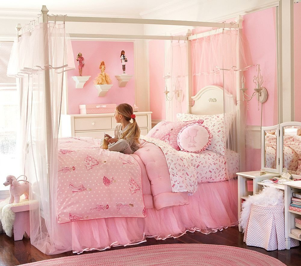 Little Girls Bedroom Ideas New Girl S Rooms Pink Paint Colors