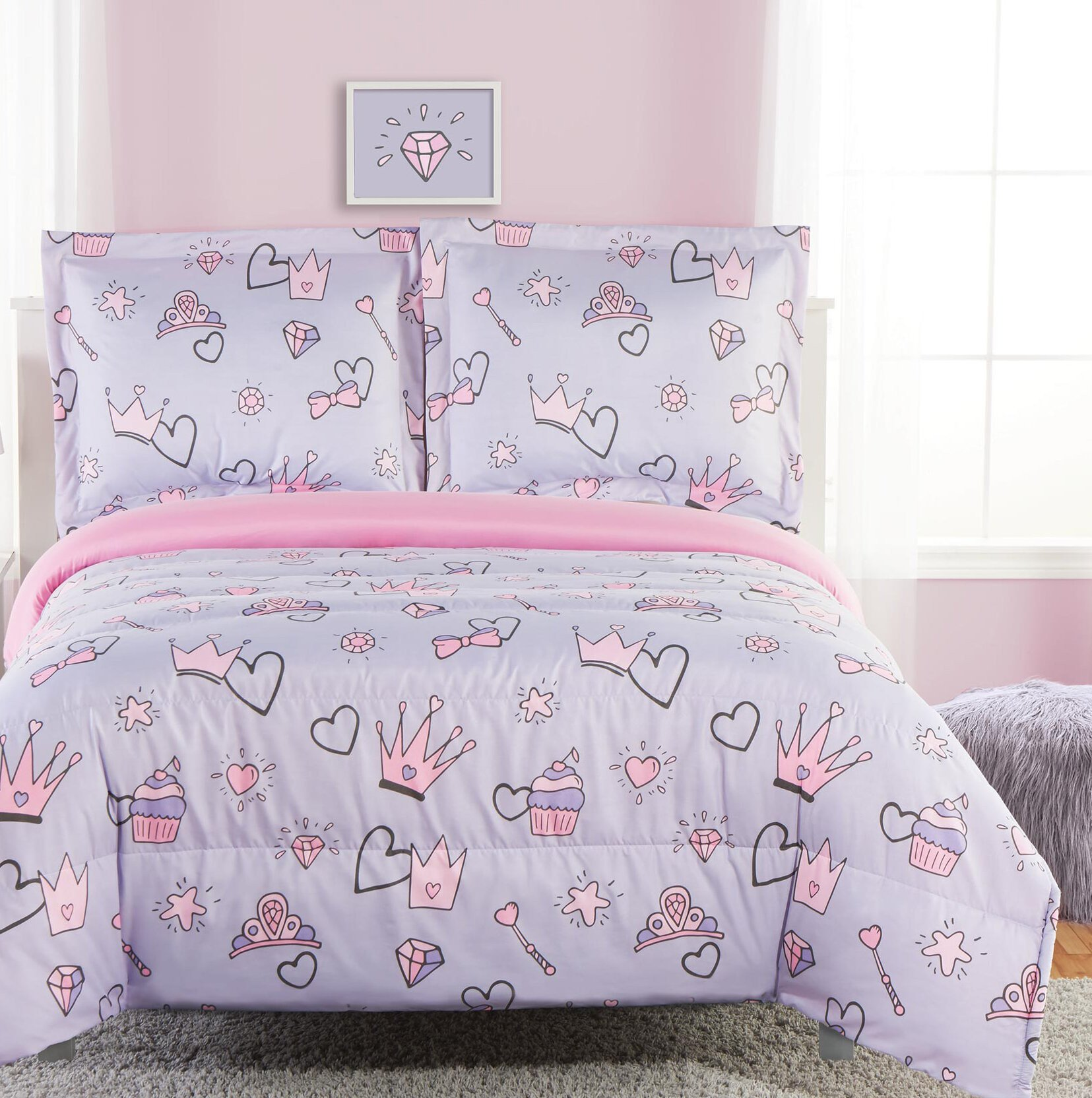 Little Mermaid Bedroom Decor Beautiful Zoomie Kids Statesboro Reversible forter Set & Reviews