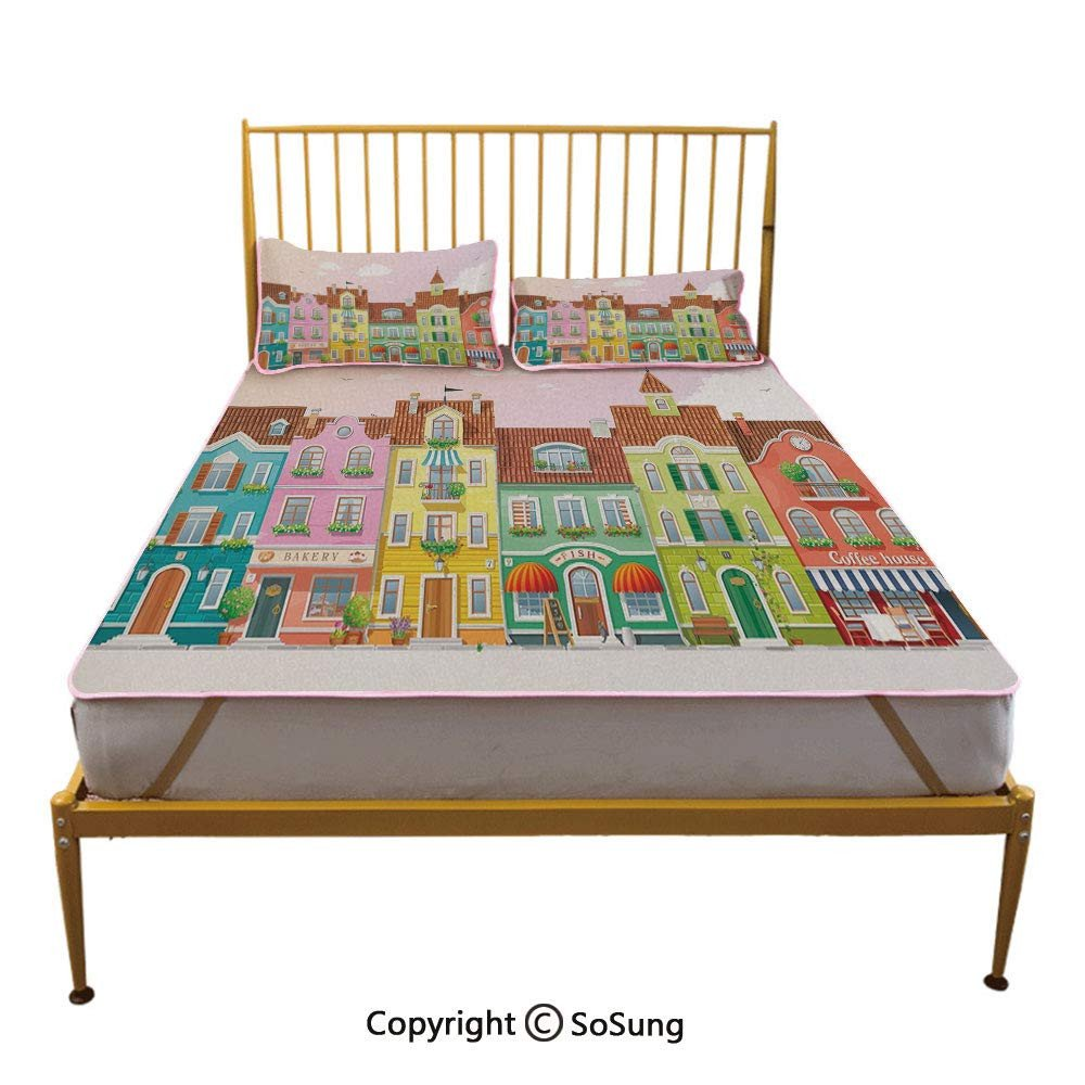 Little Mermaid Bedroom Decor Inspirational Amazon Mermaid Creative Queen Size Summer Cool Mat