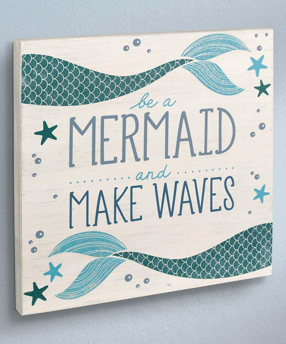 Little Mermaid Bedroom Decor Inspirational Coastal Be A Mermaid Wall Sign