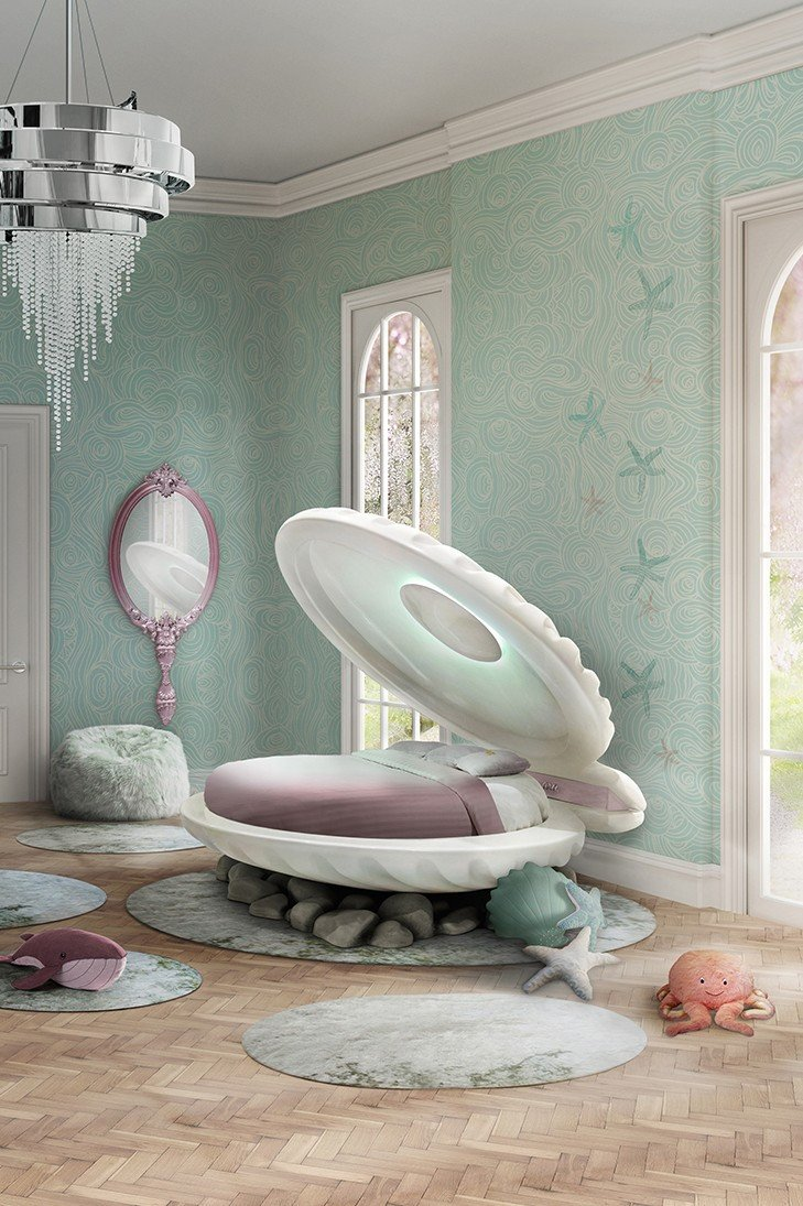 """Little Mermaid Bedroom Decor Inspirational Sleep Like A Real Princess On This Bed Inspired by """"the"""