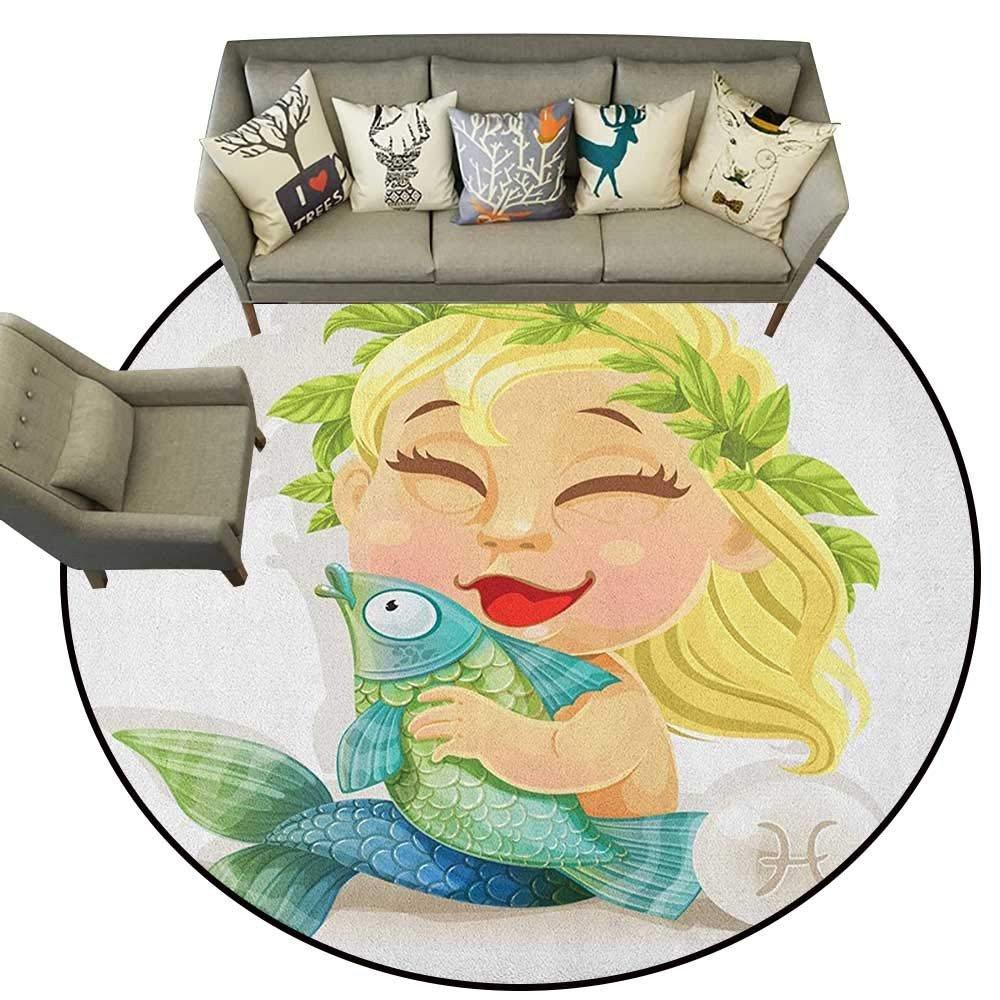 Little Mermaid Bedroom Decor Luxury Amazon astrology,rugs for Bedroom Baby Pisces Symbol