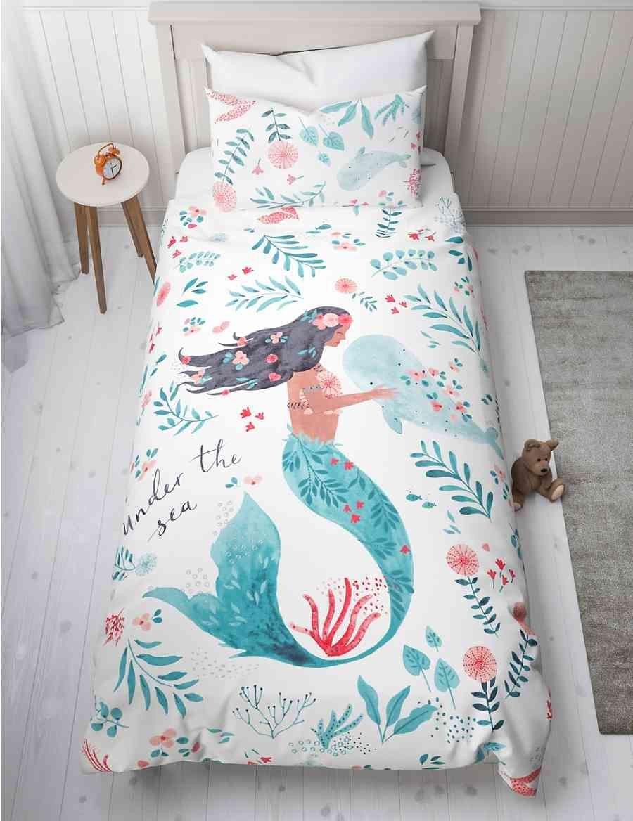 Little Mermaid Bedroom Set Elegant Mermaid Bedding Set In 2020