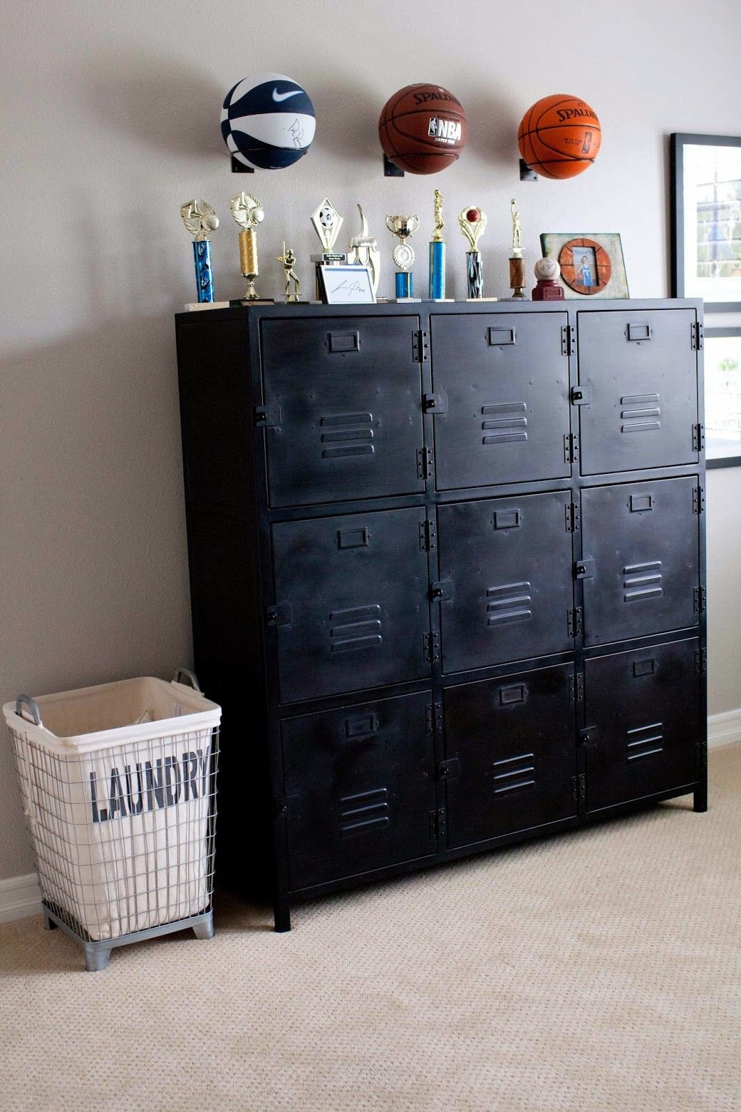 Locker Room Bedroom Furniture Awesome Pin by Sarah Montes On Boys Room