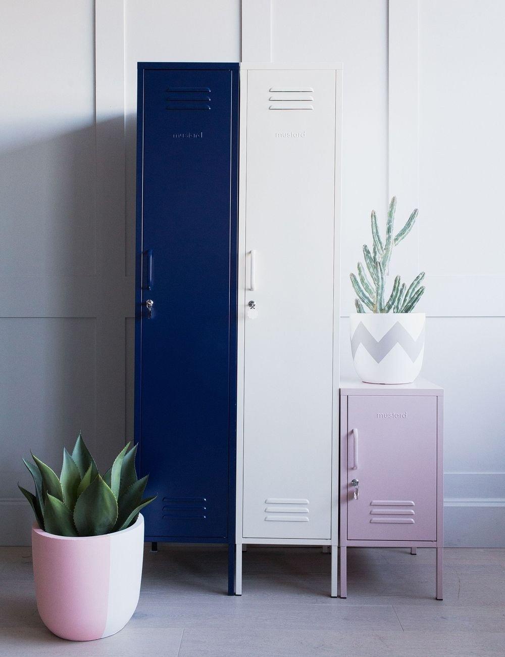 Locker Room Bedroom Furniture Elegant Mustard Made Lockers the Skinny Tall Locker Navy Blue