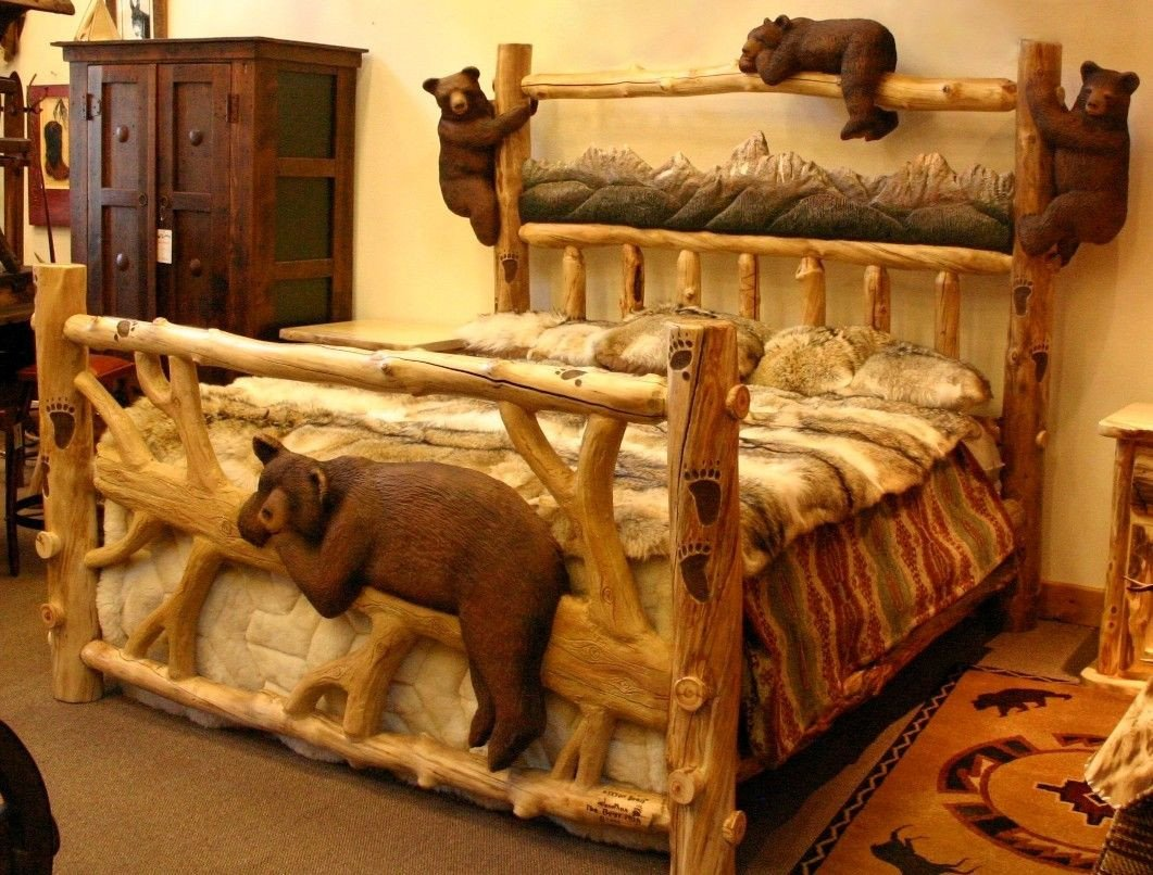 Log King Size Bedroom Set New I Love This Bed Crazy Expensive but It is Handmade Would