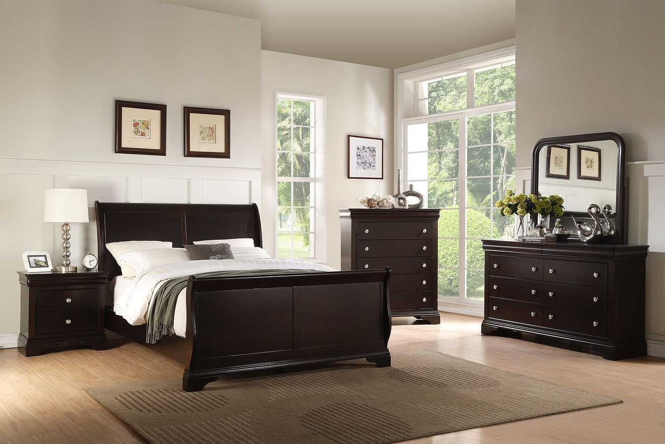 Louis Philippe Bedroom Set New Leopold Sleigh Bedroom Set