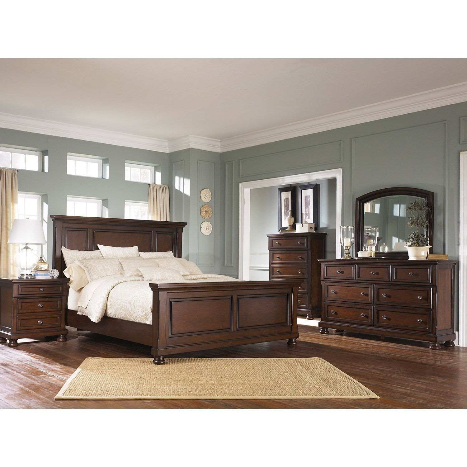 Low Price Bedroom Set Beautiful Porter 5 Piece Bedroom Set B697 5pcset