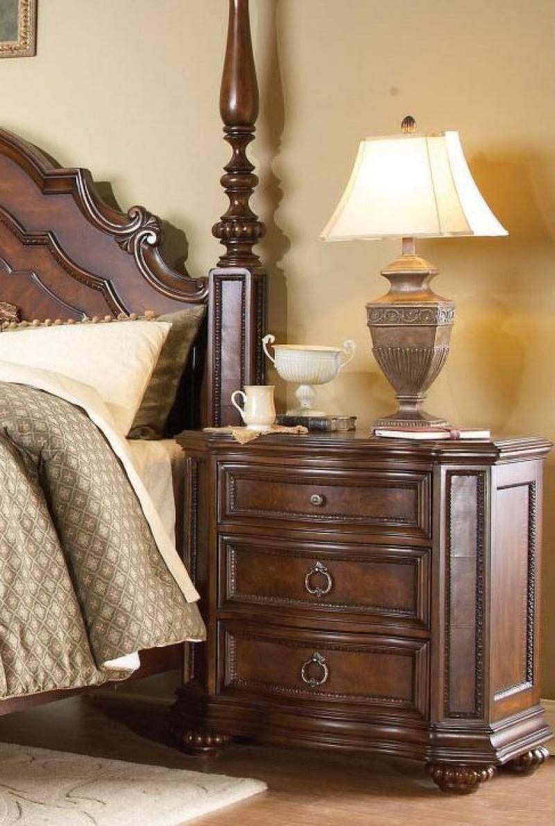 Low Profile Bedroom Set Fresh Homelegance 1390lpk 1ek Prenzo Warm Brown Wood King Low