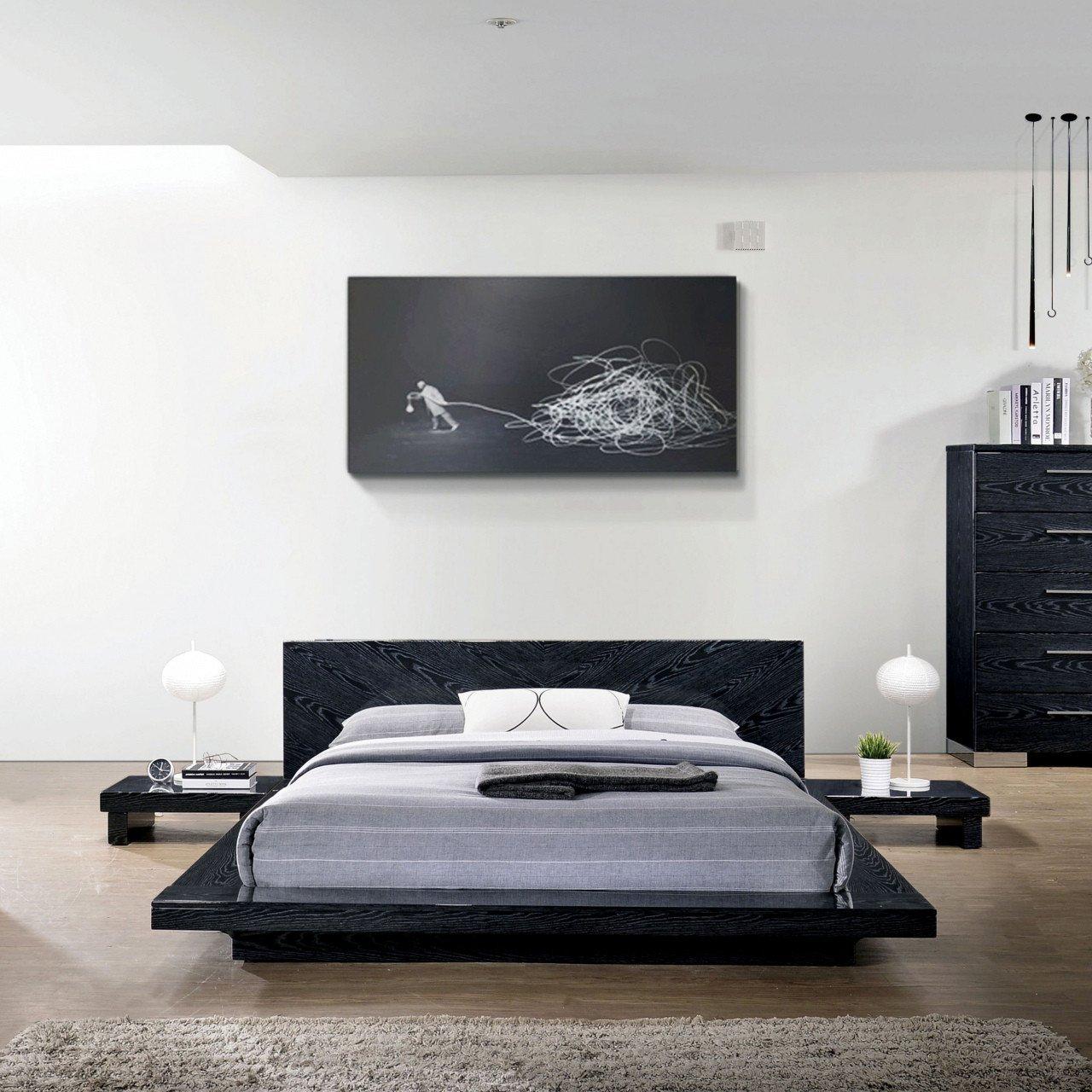 Low Profile Bedroom Set New King Metal Platform Bed — Procura Home Blog