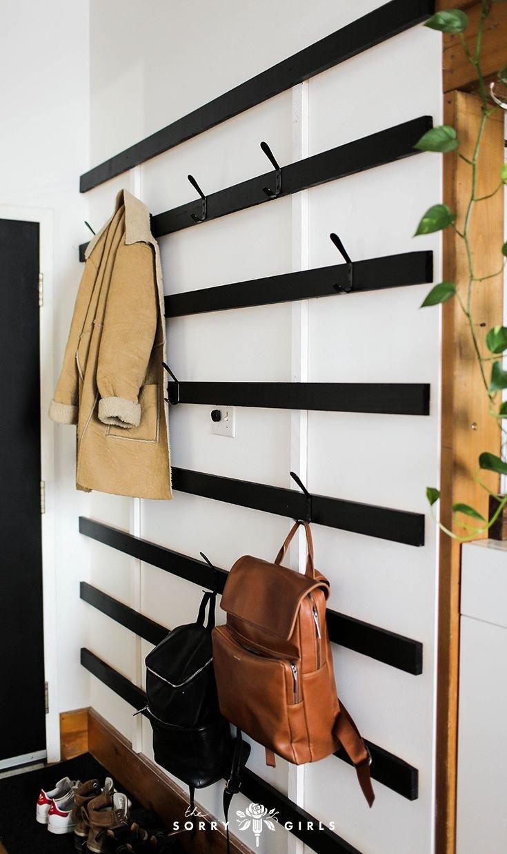 Luggage Rack for Bedroom Elegant Building A Giant Minimalist Coat Rack