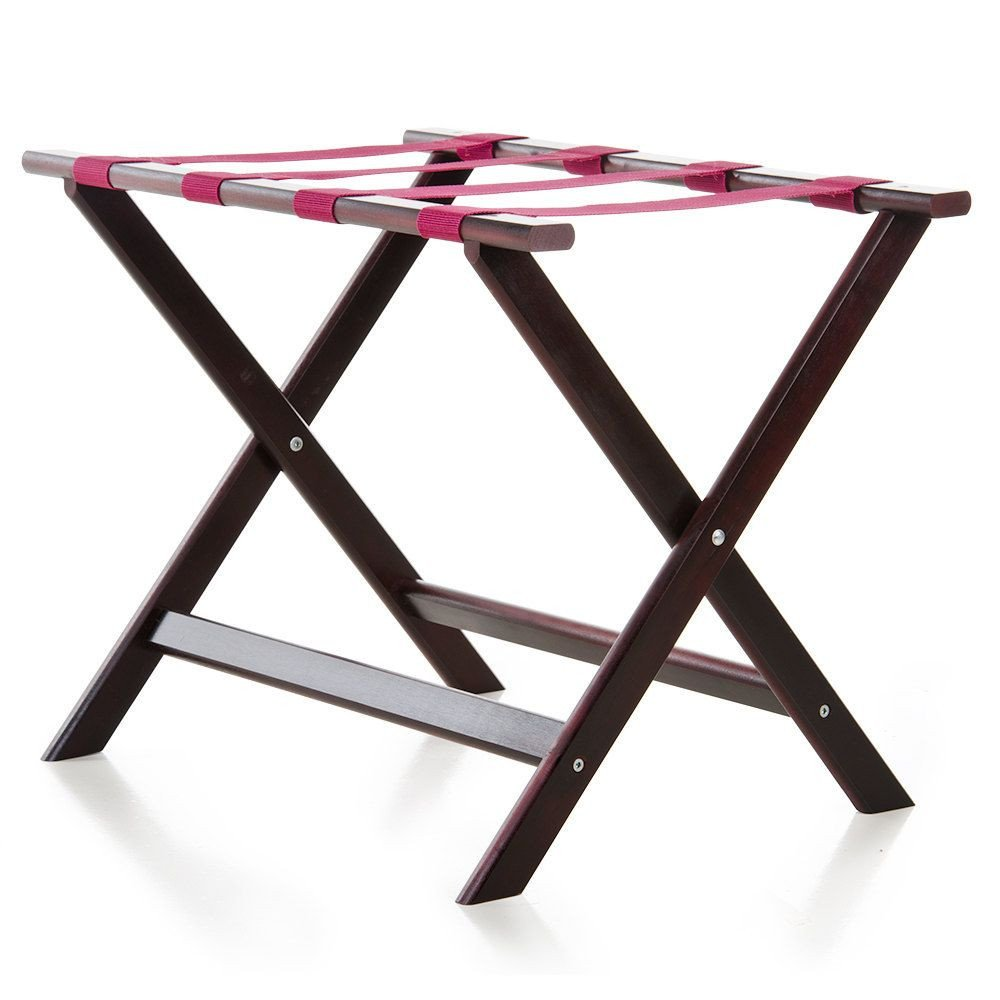 "Luggage Rack for Bedroom Inspirational Lancaster Table & Seating 24 1 2"" X 15"" X 20"" Walnut Wood"