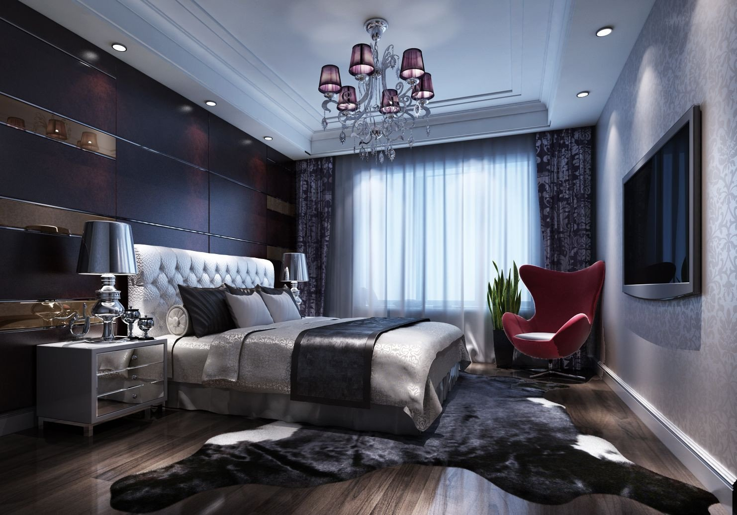 Luxury Master Bedroom Furniture Beautiful Chinese Luxury Bedroom Decoration Renderings