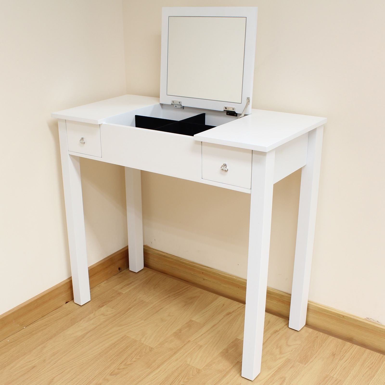 Make Up Vanity for Bedroom Beautiful Vanity with A Fold Down Mirror