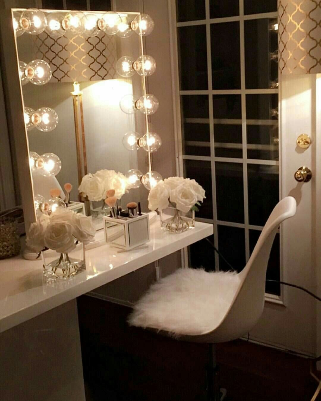 Make Up Vanity for Bedroom Best Of Pin by Monica Holloway On Personal Space