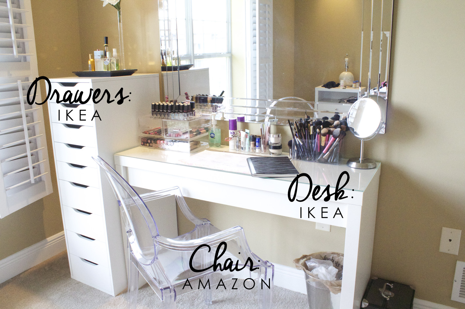 Make Up Vanity for Bedroom Fresh Pin by 💞nini 💞 On Bedroom & Vanity Ideas