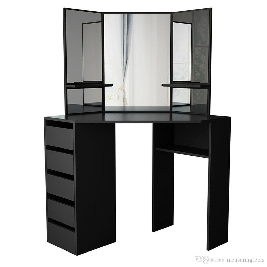 Make Up Vanity for Bedroom Inspirational 2019 Dressing Table Bedroom Furniture Makeup toaletka Vanity Table Kids Bedroom Furniture Set Dresser Meuble En Miroire Modern Mirrored Bathroom From