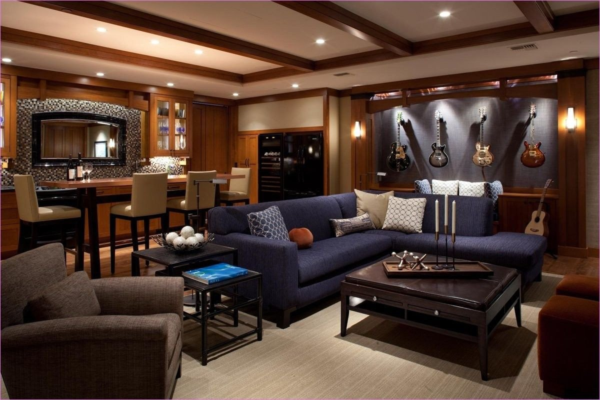 Man Cave Bedroom Ideas Best Of 55 Cozy Man Cave Living Room Decor Ideas