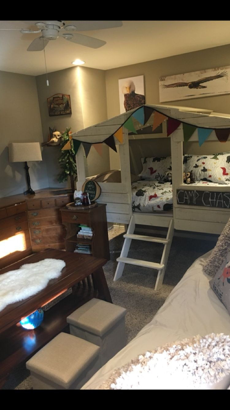 Man Cave Bedroom Ideas New Camping themed Room