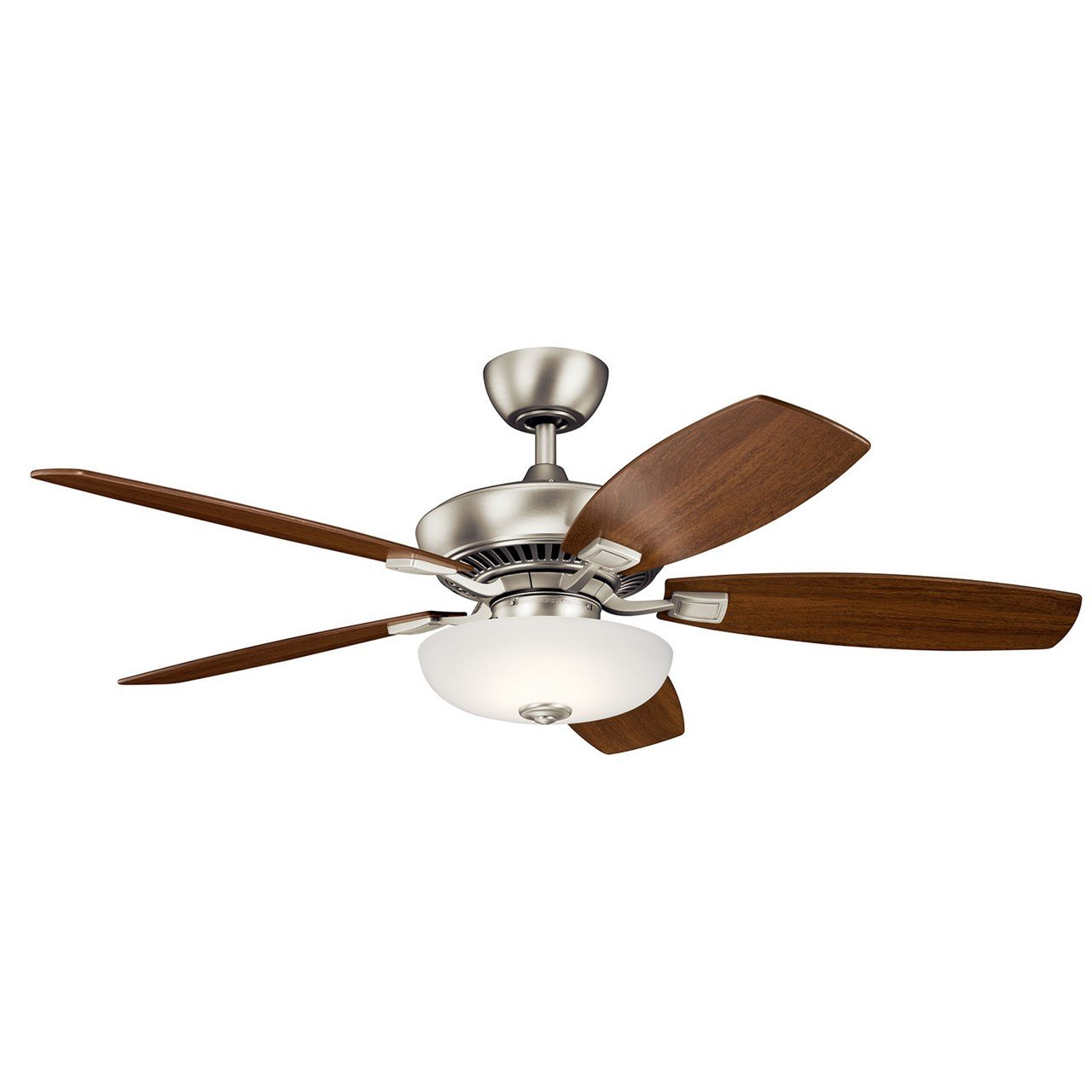 "Master Bedroom Ceiling Fans Beautiful Canfield Pro Led 52"" Fan Brushed Nickel"