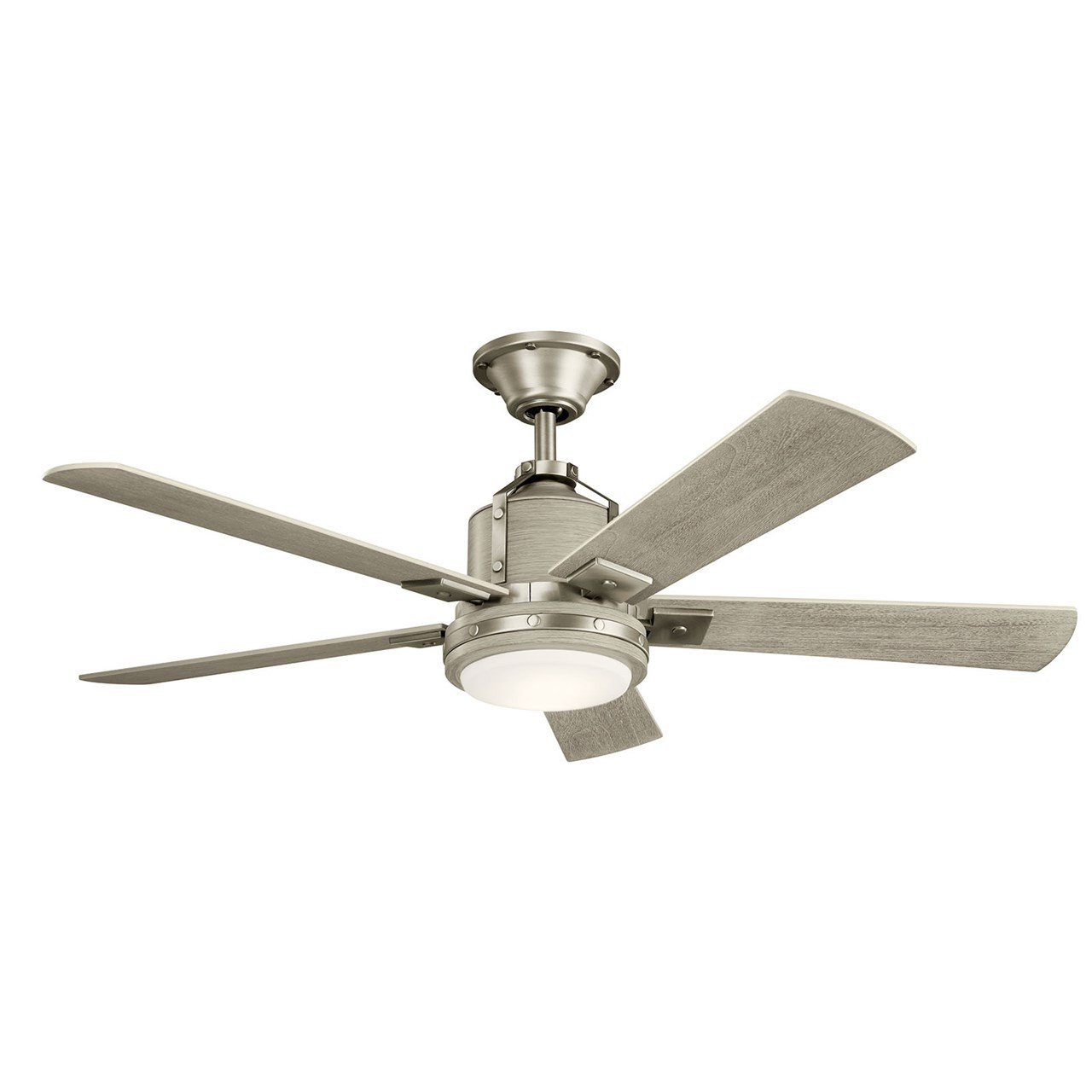 "Master Bedroom Ceiling Fans Elegant Colerne™ Led 52"" Fan Brushed Nickel"