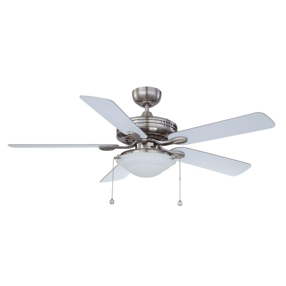 Master Bedroom Ceiling Fans Inspirational Designers Choice Collection 52 In Satin Nickel Ceiling Fan