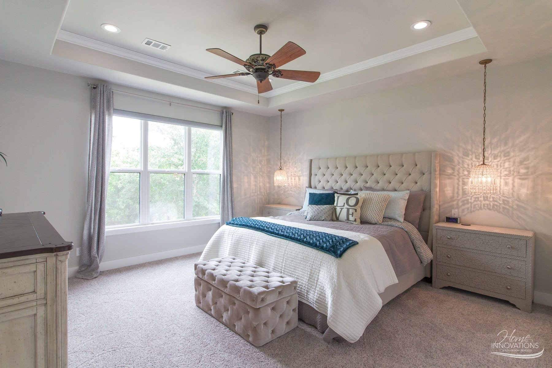 Master Bedroom Ceiling Fans Lovely Custom Home Builder