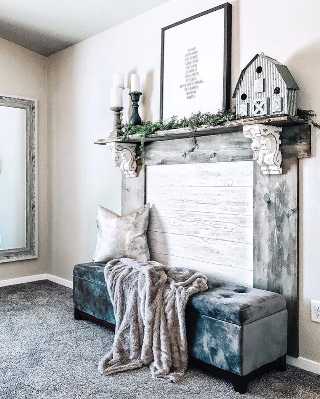 Master Bedroom with Fireplace Unique Check Out This Gorgeous Faux Fireplace topped Off with A