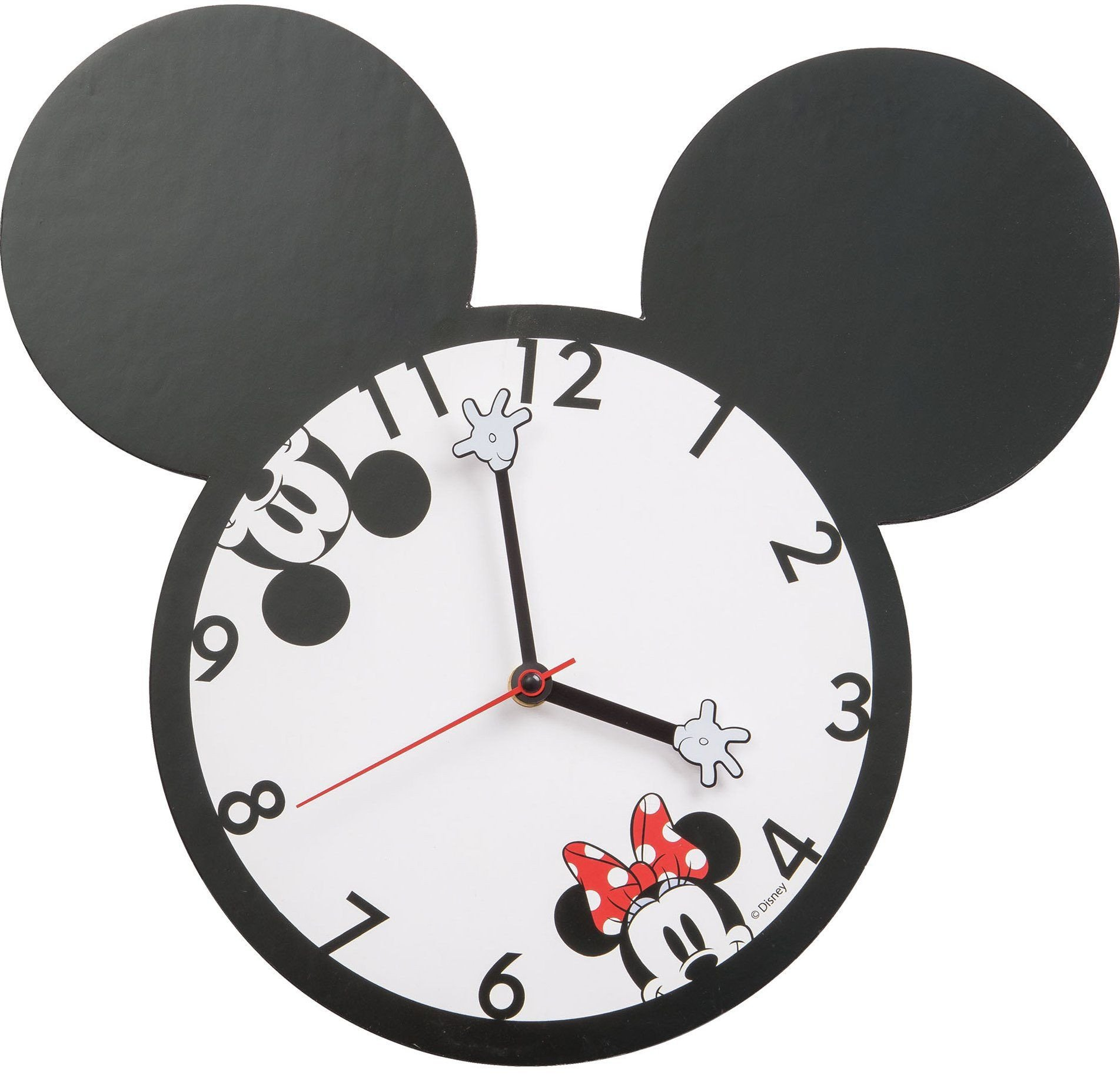 Mickey Mouse Bedroom Decorations Lovely Disney Mickey and Minnie Mouse Wall Clock