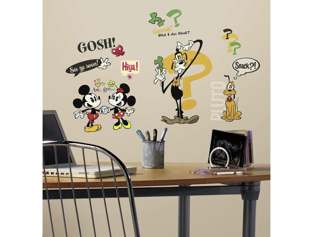 Mickey Mouse Bedroom Decorations Lovely Rmk2327scs Mickey & Friends Mickey Mouse Cartoons Wall