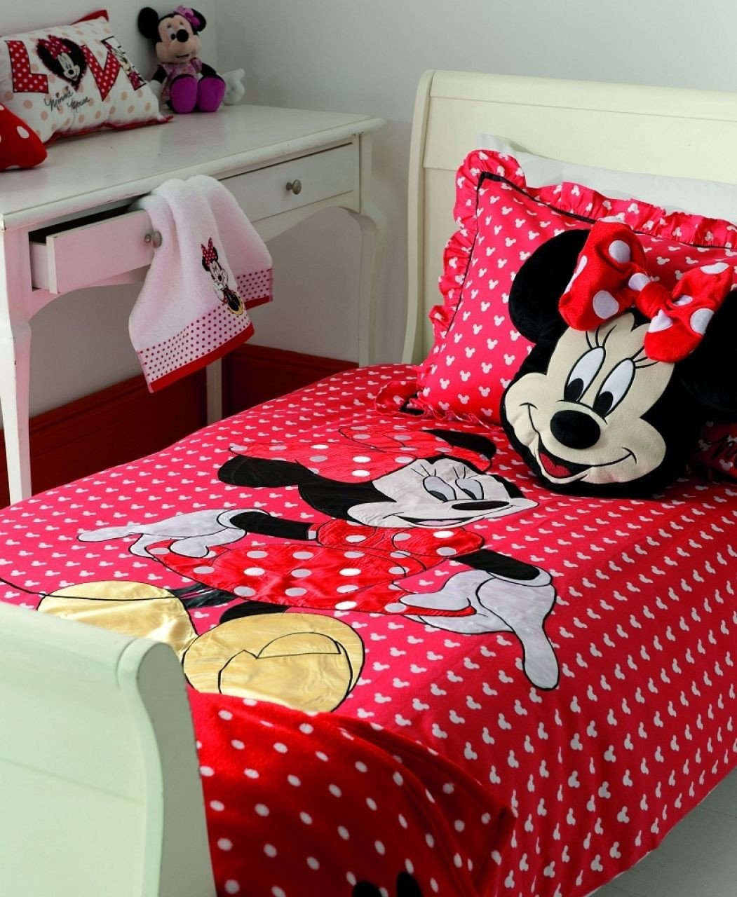 Mickey Mouse Bedroom Decorations Luxury Decor Mickey and Minnie Mouse Bedding Queen Size Minnie