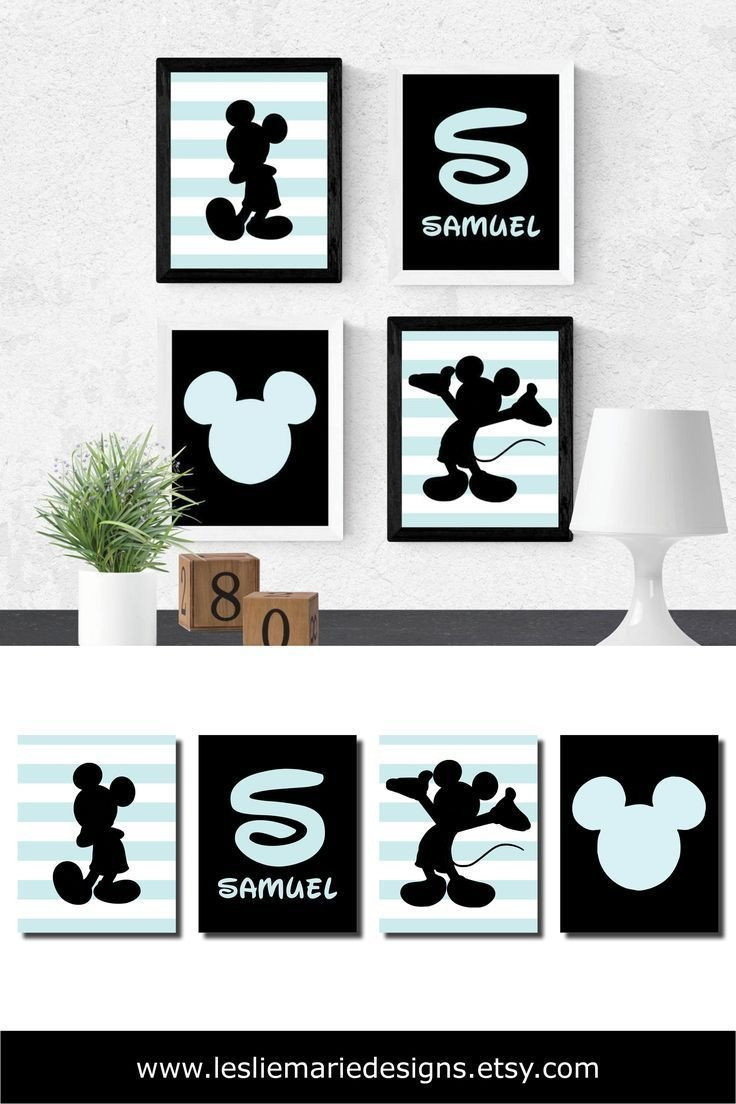 Mickey Mouse Bedroom Decorations Luxury Mickey Mouse Wall Art Mickey Mouse Wall Decor Mickey Mouse
