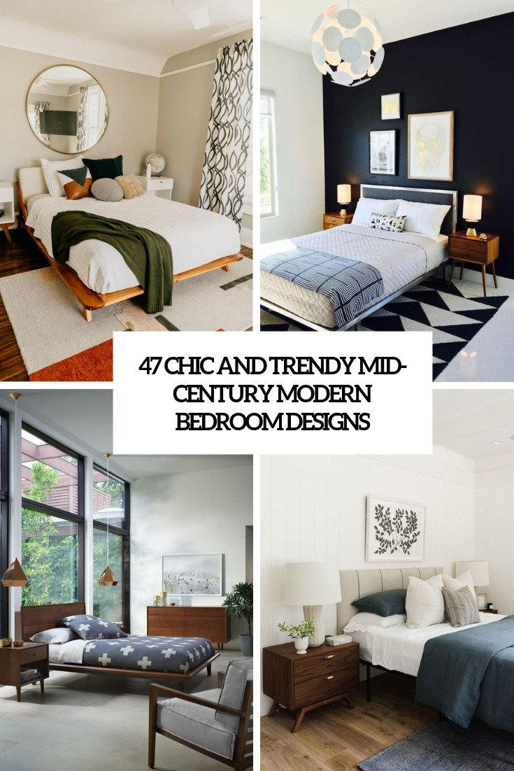 Mid Century Modern Bedroom Furniture Awesome 47 Chic and Trendy Mid Century Modern Bedroom Designs Digsdigs