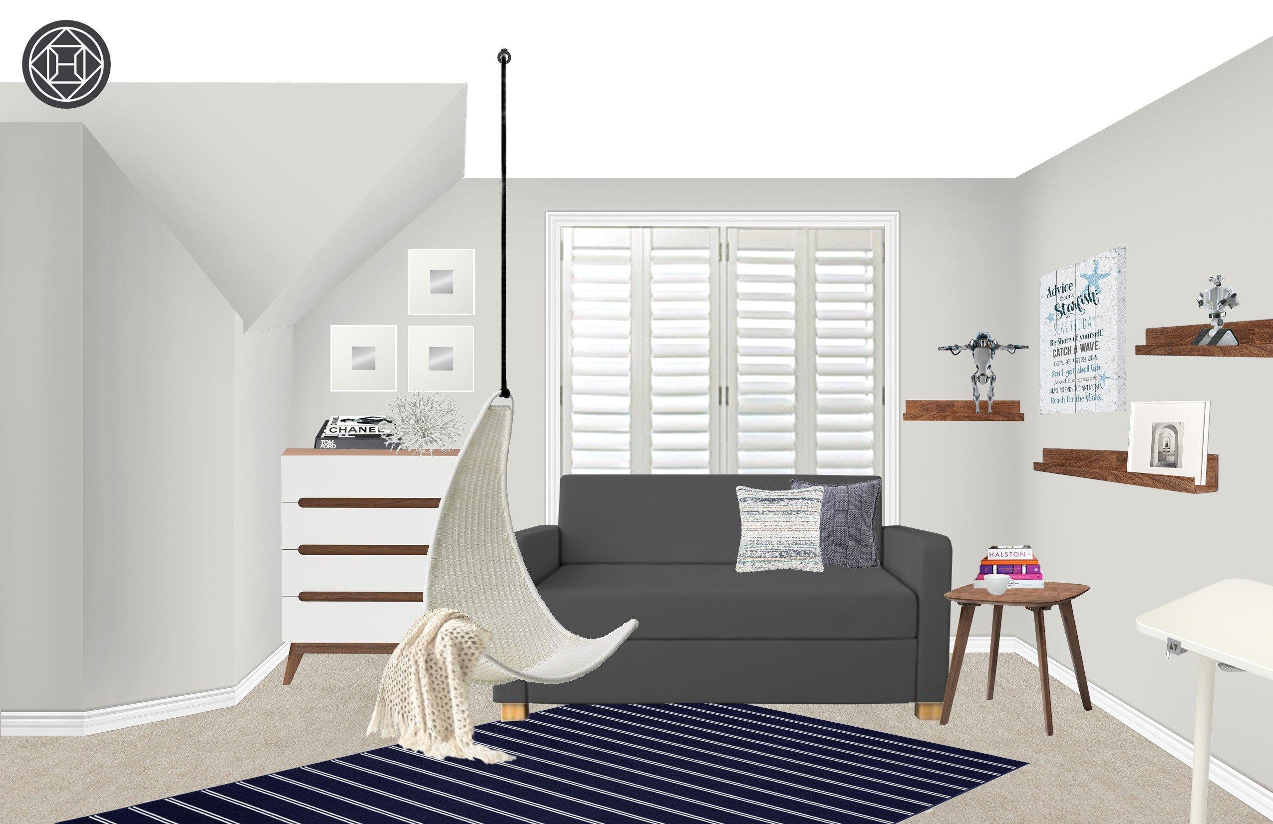 Mid Century Modern Bedroom Furniture Inspirational Coastal Midcentury Modern Bedroom Design by Havenly